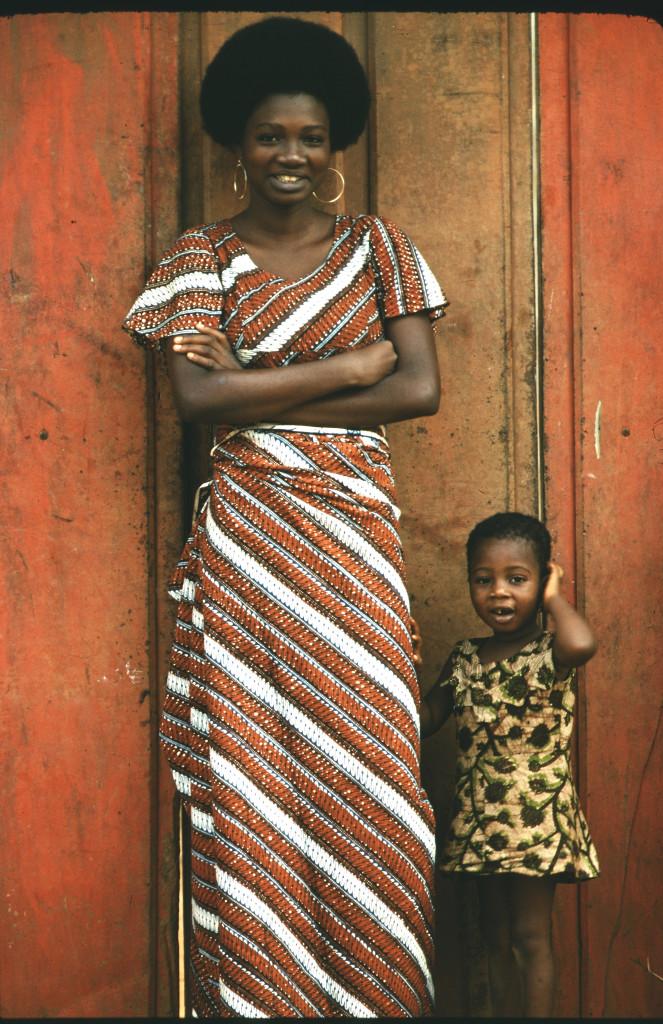 Kvinna och barn, Benin