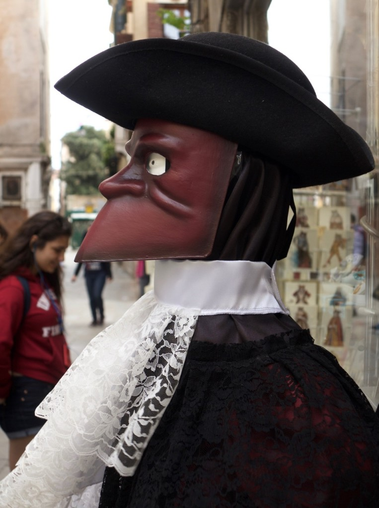 Maskman, Venedig