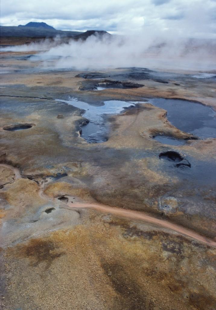 Svavelutfällningar, Island