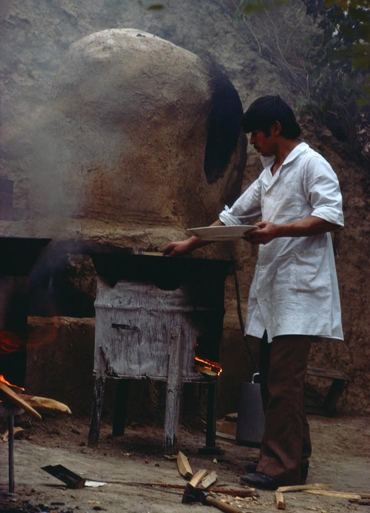 Brödet bakas, Kazakstan