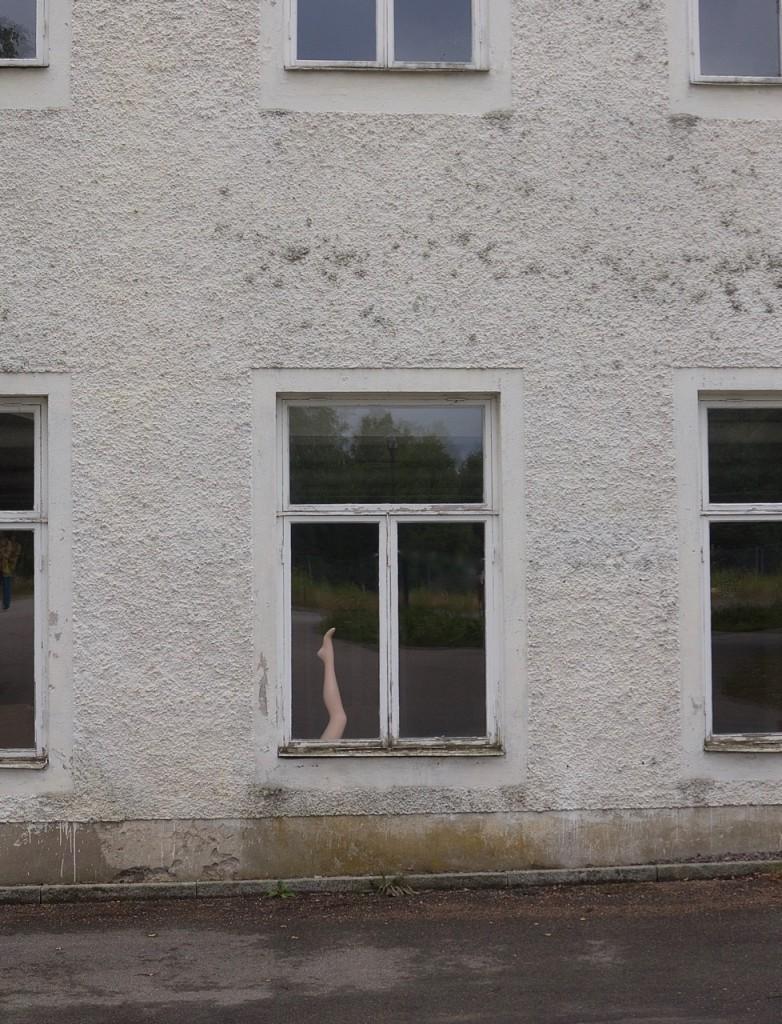 Benet i fönstret/Oväntat